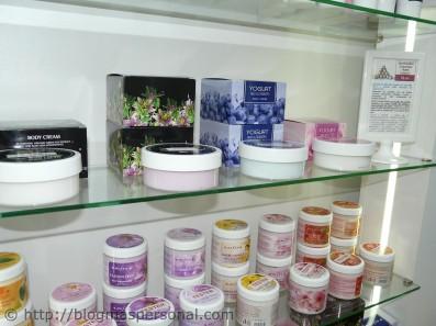 Crema corporal de yogur