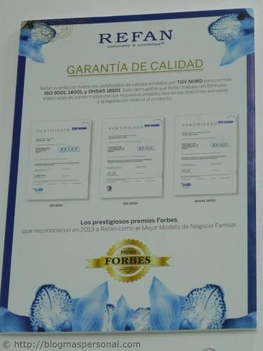 Certificado de calidad ISO
