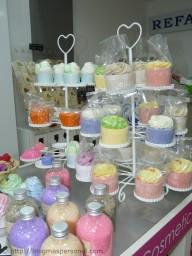 Cupcakes baño y ducha