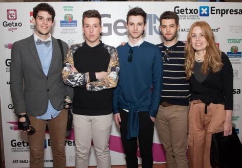 Jóvenes diseñadores participantes del Concurso Nuevos Diseñadores