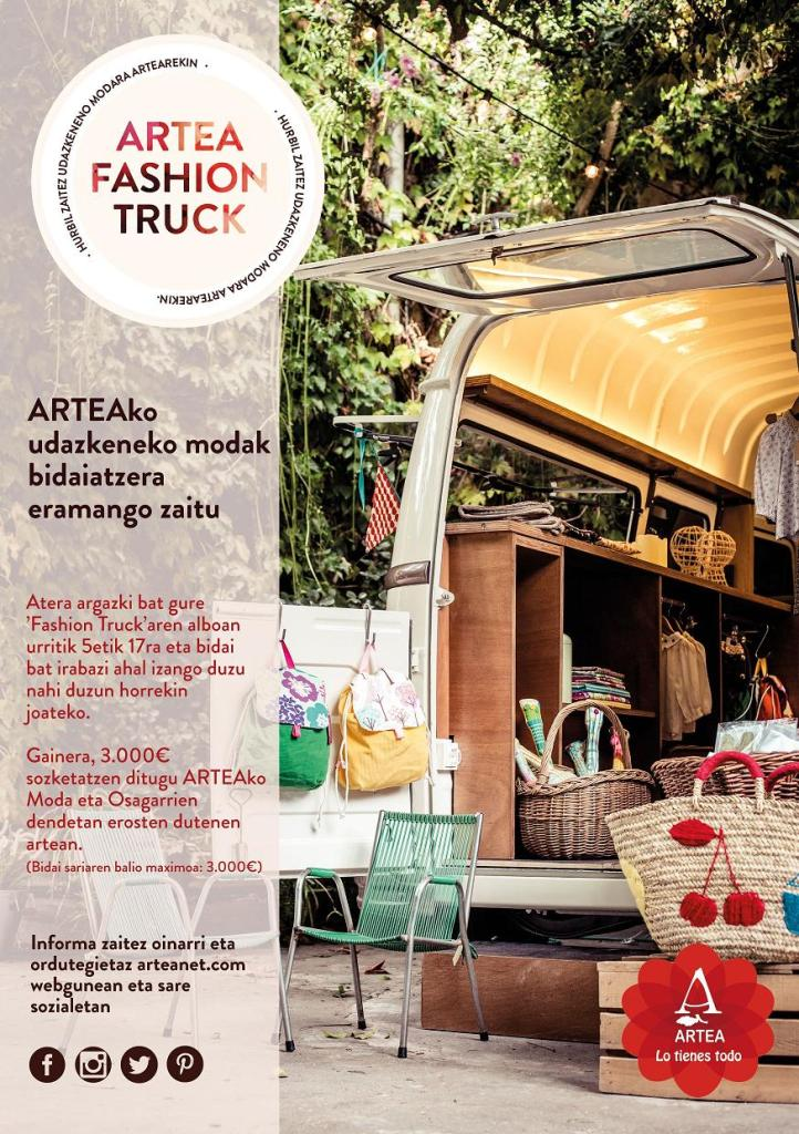 Artea Fashion truck flyer_eusk