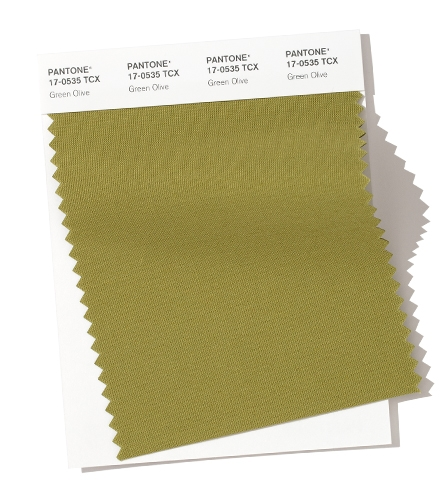 Pantone-Fashion-Color-Trend-Report-London-Autumn-Winter-2019-2020-Swatch-Green-Olive